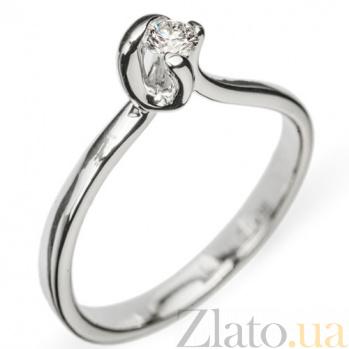 Золотое кольцо с бриллиантом Haya R0667