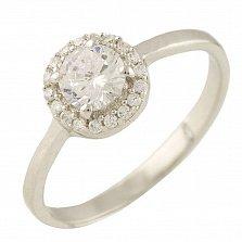 Серебряное кольцо Бренда с фианитами