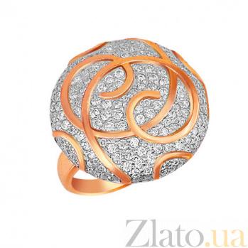 Кольцо из краснного золота Доминика VLT--ТТ172-2