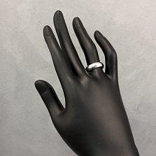 Обручальное кольцо Одно решение из платины