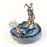 Серебряная статуэтка Зайка