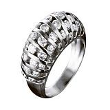 Золотое кольцо с бриллиантами Иоланта