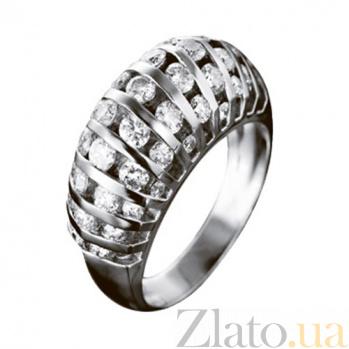 Золотое кольцо с бриллиантами Иоланта KBL--К1686/бел/брил
