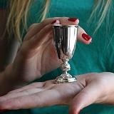 Серебряная рюмка Ампир