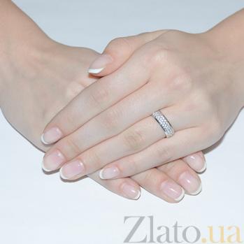 Кольцо из белого золота Галадриэль 11859б
