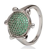 Серебряное кольцо с фианитами Филадельфия