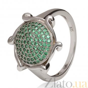 Серебряное кольцо с фианитами Филадельфия 3К543-0035