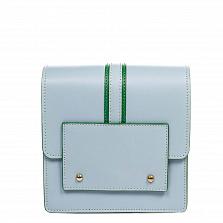 Клатч Italian Bags 1721_sky Кожаный Синий