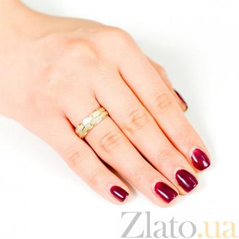 Золотое обручальное кольцо Фантазия страсти 000001645