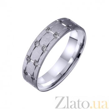 Золотое обручальное кольцо Звездный дождь TRF--422244