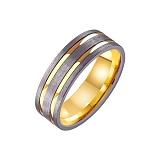 Золотое обручальное кольцо Felicita
