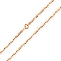 Серебряная цепочка с позолотой 000026360