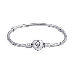 Серебряный браслет для шармов в стиле Пандора 000127678