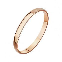 Обручальное кольцо из красного золота 000001687