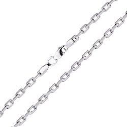 Серебряная якорная цепь, 4мм 000035423