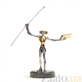 Серебряная статуэтка Дон Кихот 1069