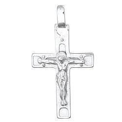Серебряный крестик Вечная жизнь 000025366