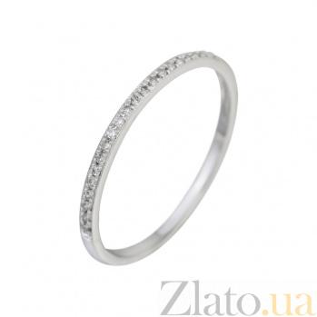 Кольцо из белого золота с бриллиантами Утренние звезды 000032284