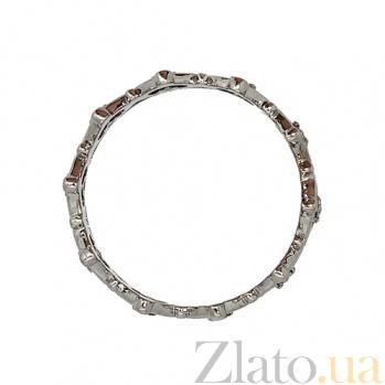 Золотое кольцо с бриллиантами Инфанта ZMX--RD-6925w_K