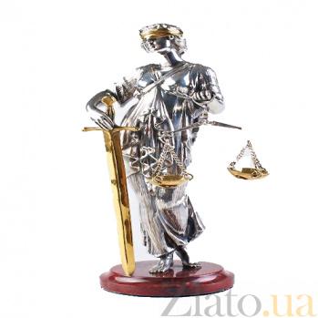 Серебряная статуэтка Фемида 0000563