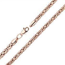 Золотая цепь Бристоль в красном цвете