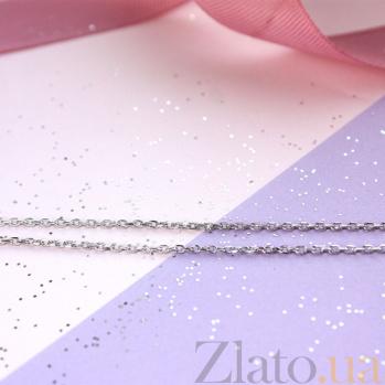 Цепочка из белого золота с алмазными гранями Сильва 2 мм SVA--5071874102/Без вставки