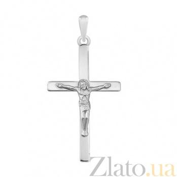 Серебряный крест Вера 000032473
