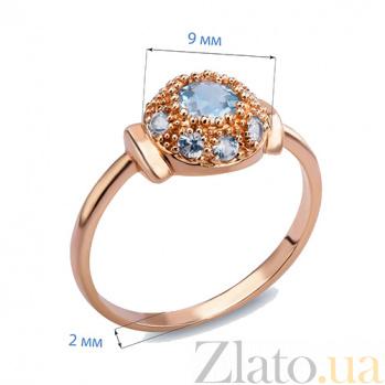 Кольцо с топазами и лейкосапфирами Lola AQA--26834