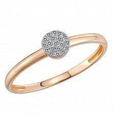 Кольцо Ника из золота с бриллиантами