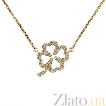 Золотое колье с бриллиантами Lucky ZMX--ND-00522y