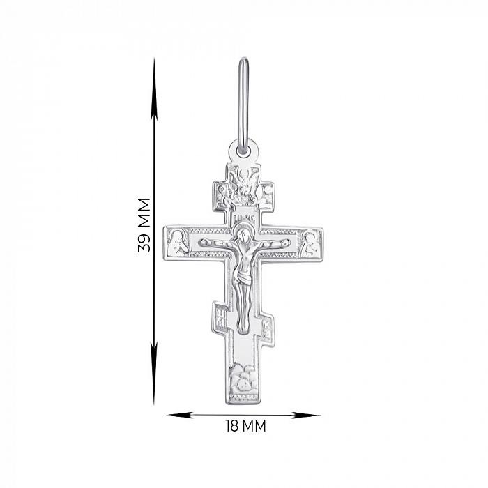 Крестик из серебра 000145976 000145976
