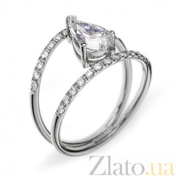 Золотое кольцо с бриллиантами Лоранс R 0098