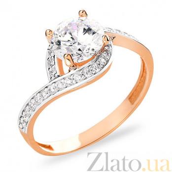 Золотое кольцо с фианитами Винонна SUF--153144