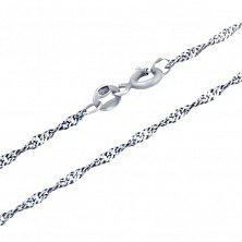 Серебряная цепочка Прекрасное дополнение