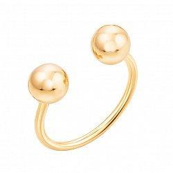 Разомкнутое кольцо из желтого золота 000132755