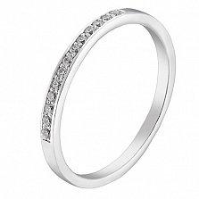 Серебряное кольцо Грета с фианитами