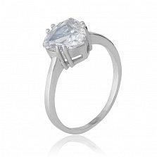 Серебряное кольцо Альфинур с фианитом
