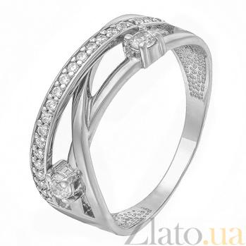 Кольцо из белого золота Бриджид SUF--140528б