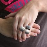 Серебряное кольцо Голубь Мира