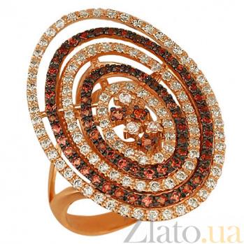 Кольцо из красного золота Виринея VLT--ТТ183-2