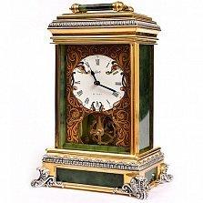 Серебряные часы Нефритовый замок