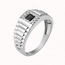 Серебряный перстень Синтарх с фианитами