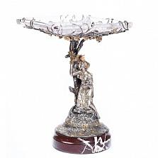 Серебряная ваза Дева