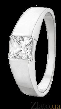 Серебряное кольцо с фианитом Аманда 000025703