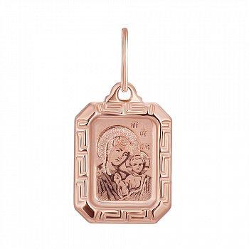 Ладанка из красного золота 000139920
