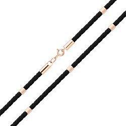 Плетеный шелковый шнурок с красным золотом 000129258