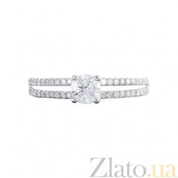 Золотое кольцо с бриллиантами Мишель 1К054-0030
