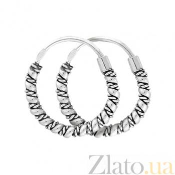 Серебряные серьги Кармелита SLX--С5/332
