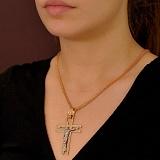 Мужской золотой крест  Путь