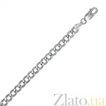Серебряная цепь Барселона, 5 мм, 60 см 000027901